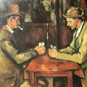 Card Players by Paul Cézanne