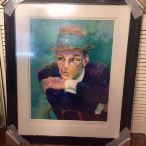 Frank Sinatra, Lithograph By Leroy Neiman 23X30