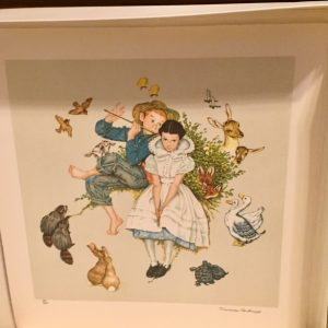 Four Ages of Love - Suite of four, Lithograph By Norman Rockwell 21x22