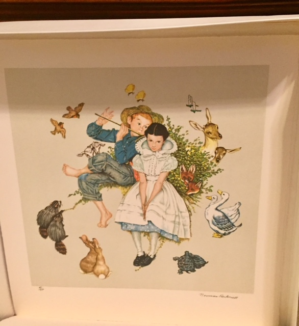 DMK1005 – First part of Four Ages of Love Suite 1 lithograph
