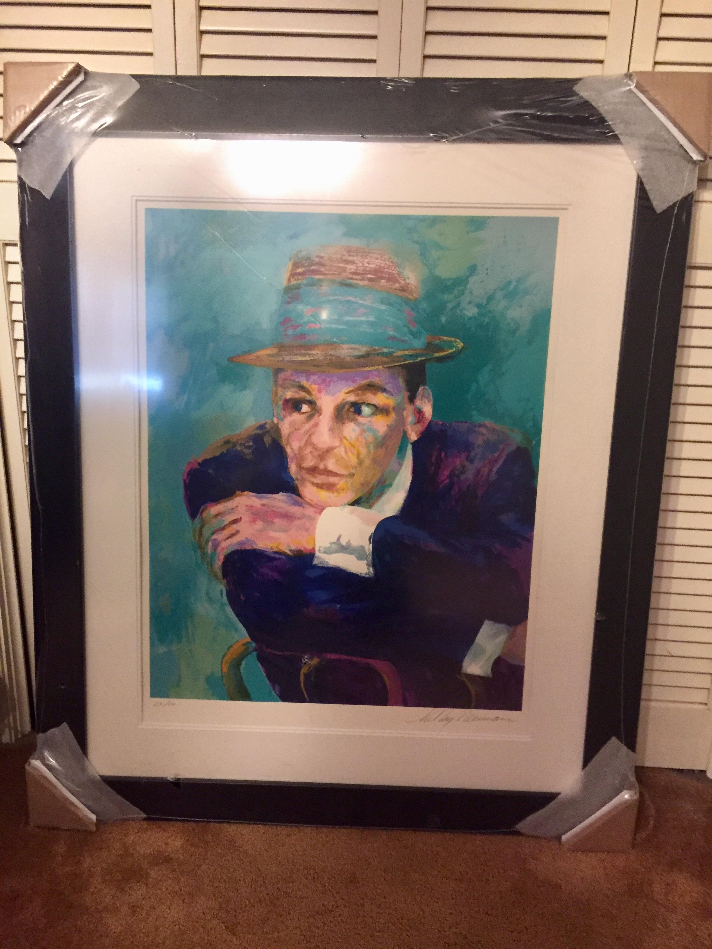 DML1007 – Frank Sinatra by Leroy Neiman