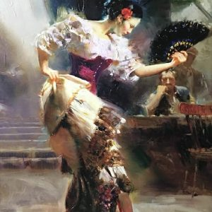 Flameco Dance Pino by Pino Daeni
