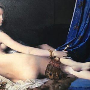 Grande Odalisque by Jean Auguste Dominique Ingres