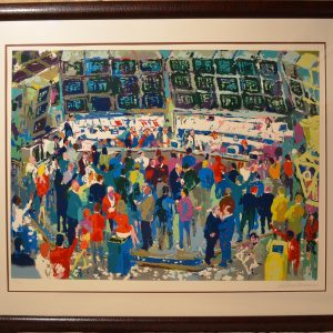 Chicago Options, Lithograph By Leroy Neiman 35 × 44.5