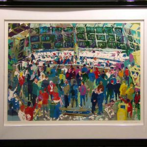 Chicago Option, Serigraph By Leroy Neiman 25x44.5