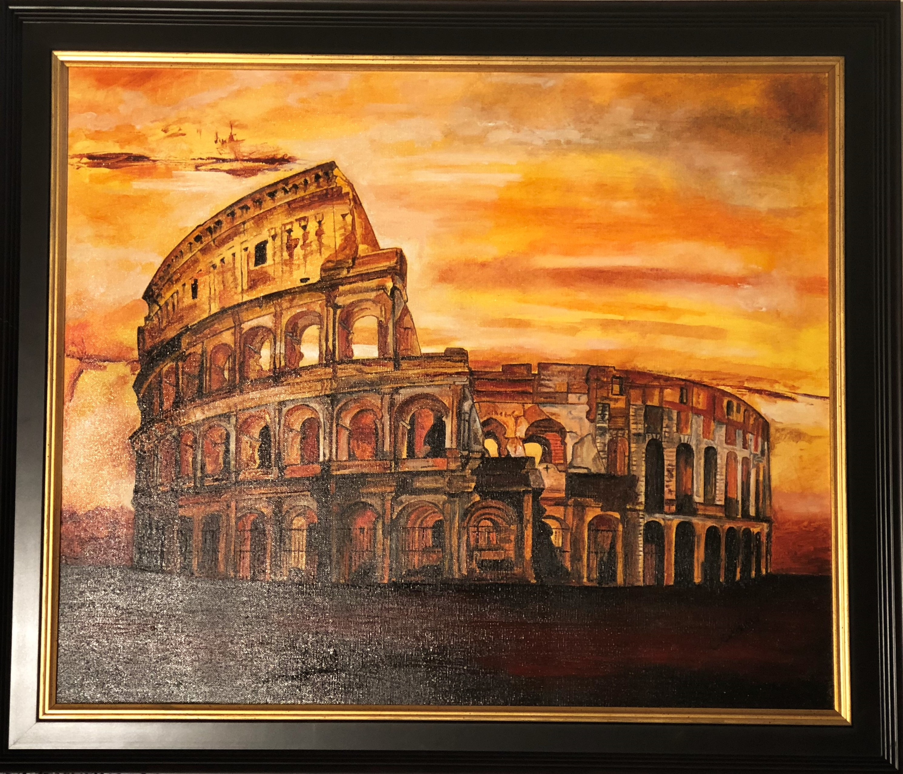 WBD1004 – Coliseum of Rome By Cathrine Colosimo