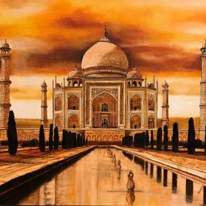 Taj Mahal by Catherine Colosimo