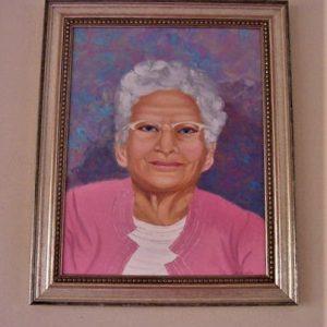 """Grandma by Viola Smith - Oil/Canvas 13.5""""x17.5"""" Original 1985"""