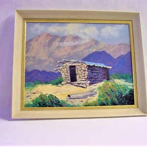 "Cabin on Prairie by Viola Smith - Oil/Canvas 18""x15"" Original 1989"