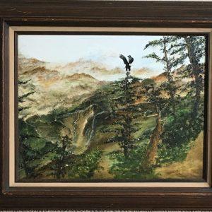 "Divine Wilderness by Linda Kinney - Oil 14""x18"" Original 2010"