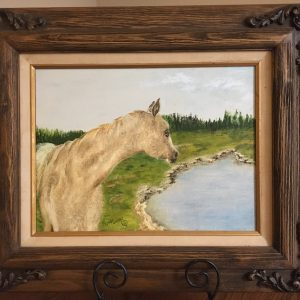 "Fresh Water by Linda Kinney - Oil 12""x16"" Original 2011"