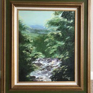 "Georgia's Beauty by Linda Kinney - Oil 20""x16"" Original 2010"