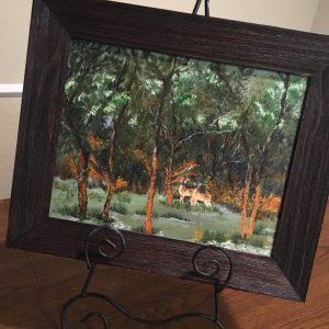 """Golden Sunrise by Linda Kinney - Oil 11""""x14"""" Original 2011"""