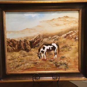 "Grazing by Linda Kinney - Oil 20""x24"" Original 2012"