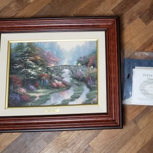 Friendship cottage by Thomas Kinkade- Canvas 16x20