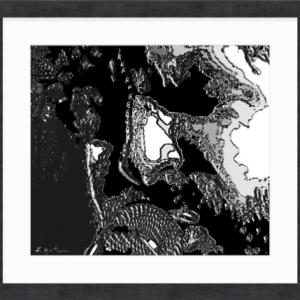 Rock War by Louise Mastromarino 35 x 31
