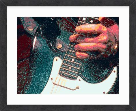 FB1114LMGreen Guitar