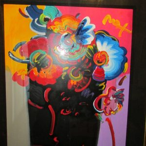 Roseville Profile by Peter Max 27 x22