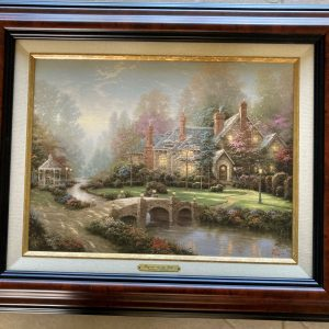"Beyond Spring Gate by Thomas Kinkade 22.5""x18.5"""