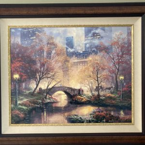 "Central Park in Fall (Limited Edition) by Thomas Kinkade 40.5""x34.5"""