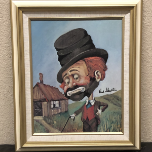 "Freddie's Shack by Red Skelton 15""x18.5"""