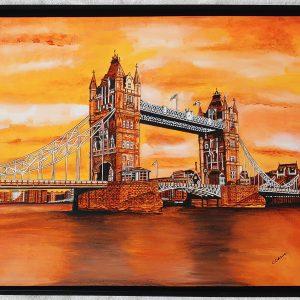 Tower Bridge Iconic Landmark by Cathrine Colosimo