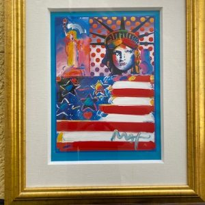 God Bless America II by the Artist Peter Max