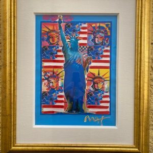 God Bless America - With Five Liberties by the Artist Peter Max