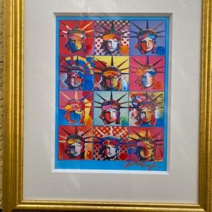 Liberty and Justice For All by the Artist Peter Max