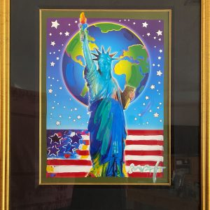 Peace on Earth II by the Artist Peter Max